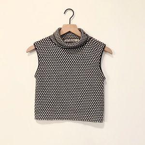 Zara Knit Patterned Crop